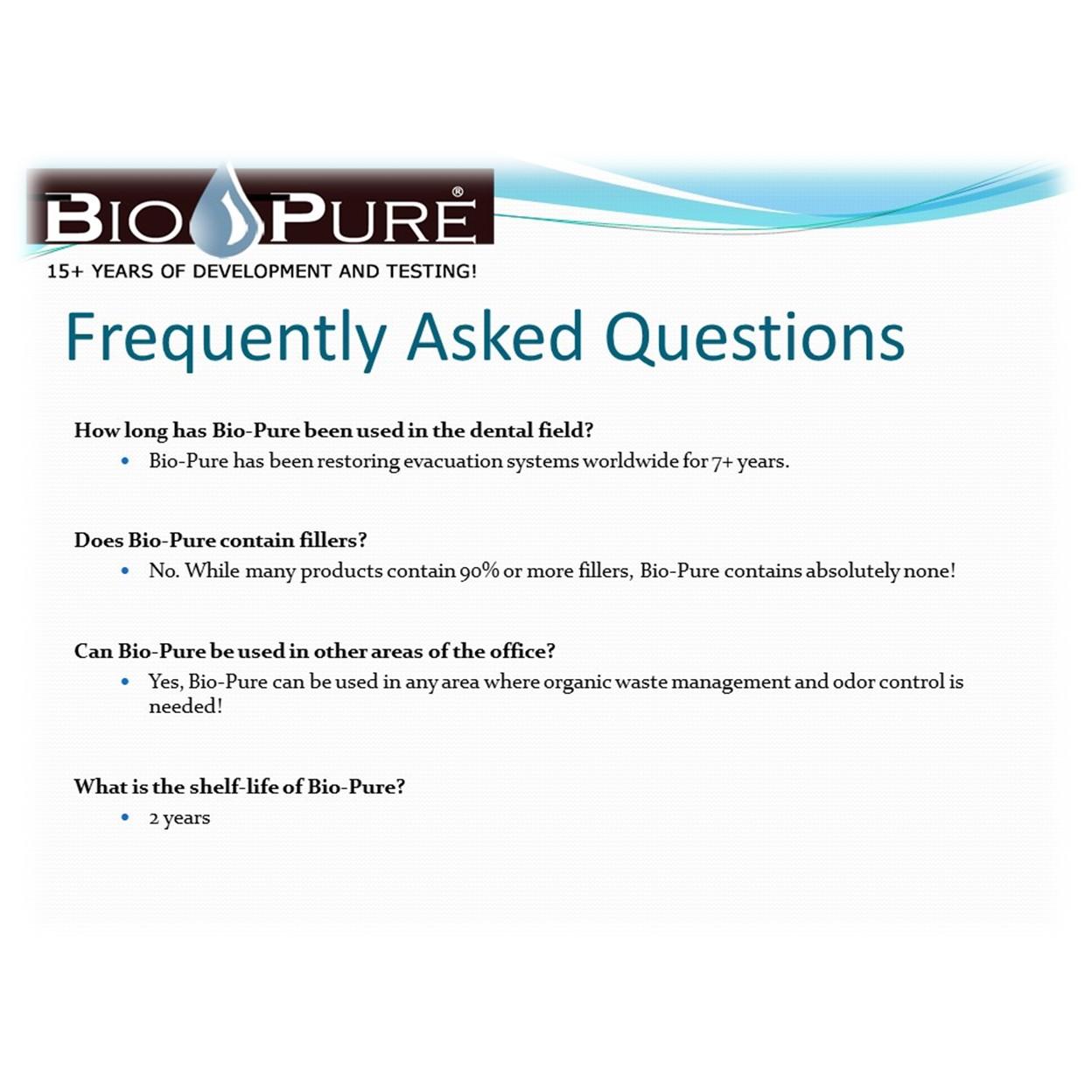 Bio-Pure – Sierra Dental Equipment, Inc